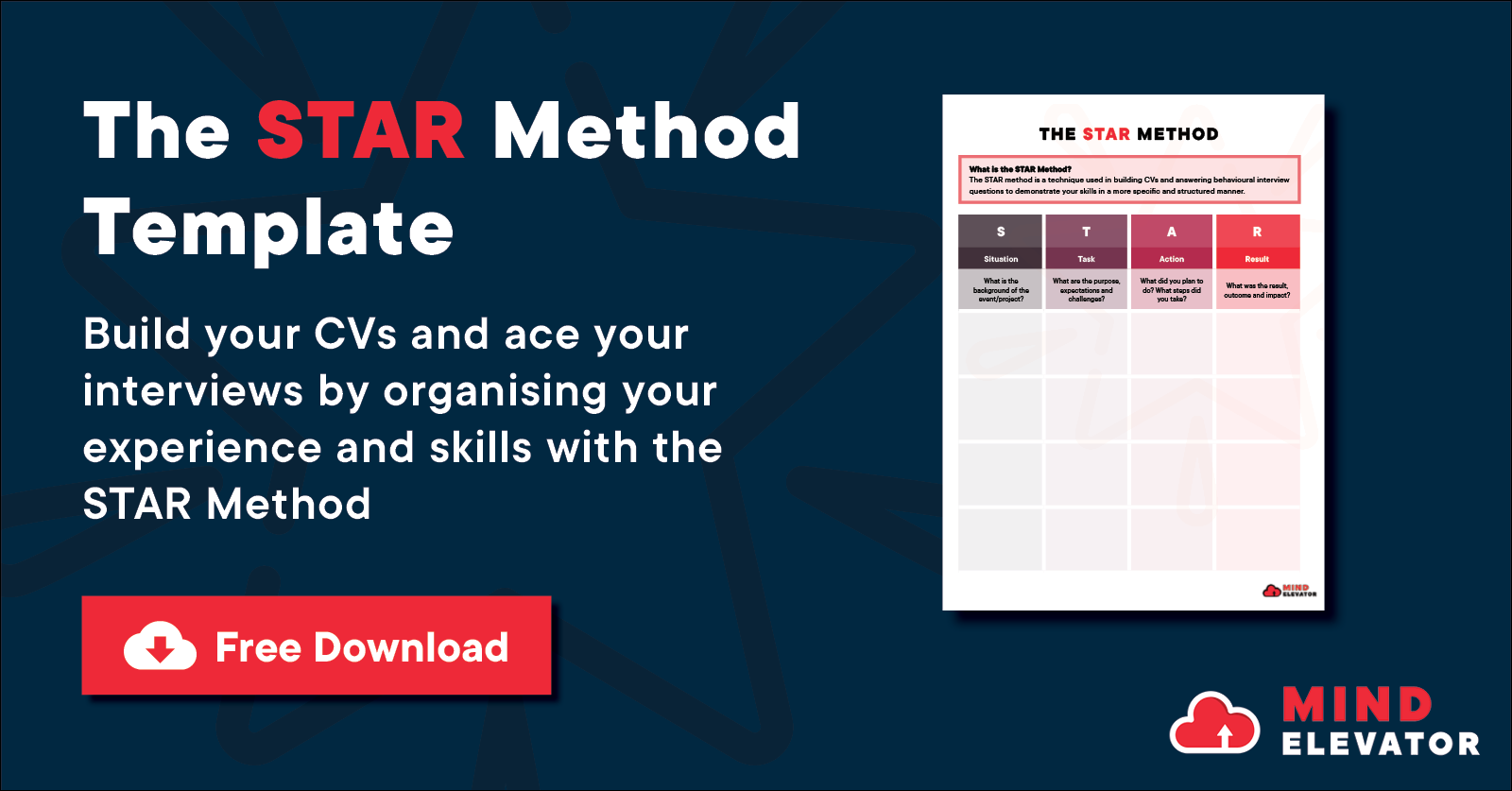 Download the STAR Method Template now!