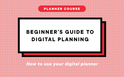 Beginner's Guide to Digital Planning